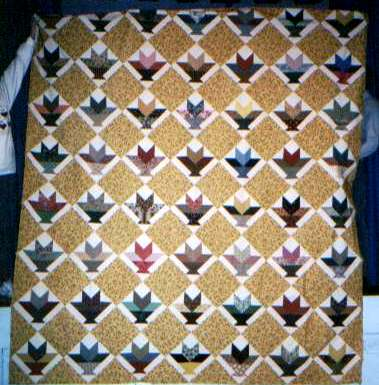 1860s style quilt